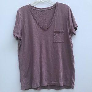 Madewell V-Neck pocket T-shirt